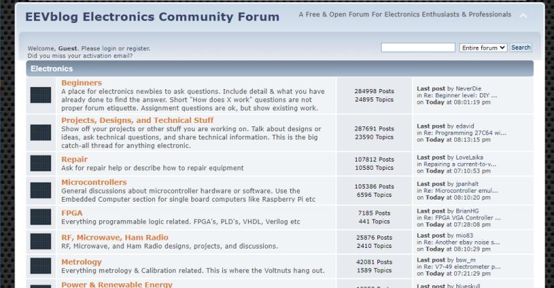 EEVBlog Electronics Forum