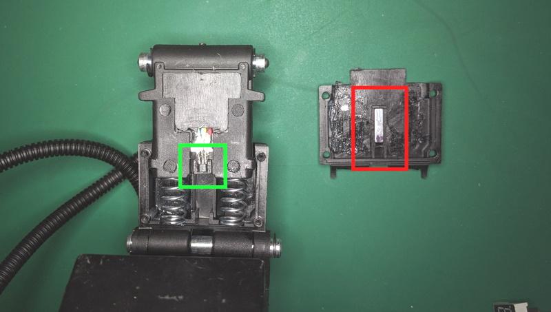Hall effect position sensor