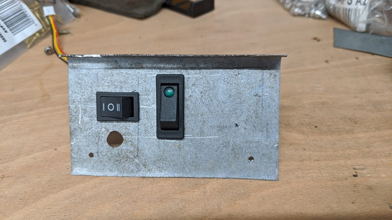 Switch panel replaces the toy cassette player