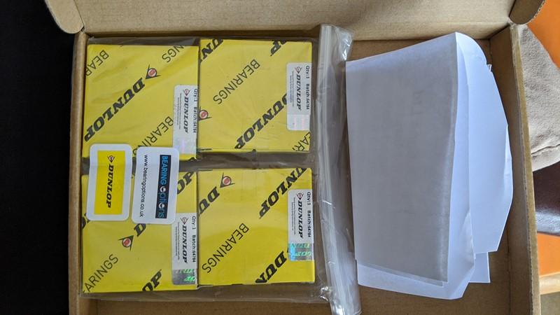 Bearing kit from Bearing Options