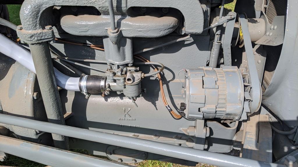 50 amp LUCAS alternator on the TE20
