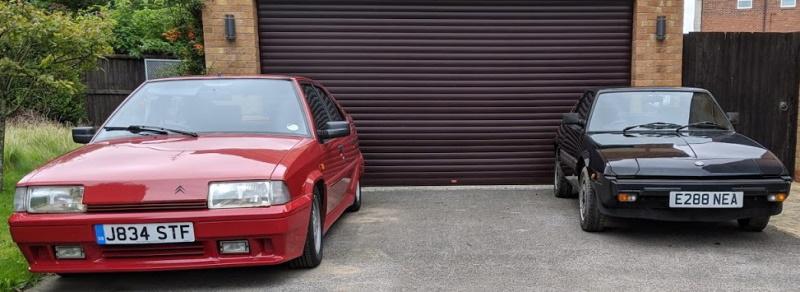 Citroen BX and Fiat X1/9, Bertone stable mates