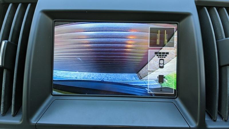 freelander reverse camera display
