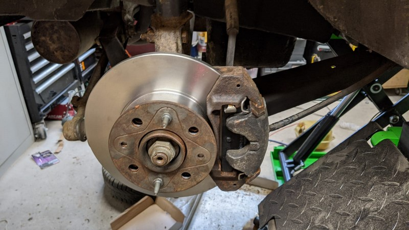 Brakes overhaul complete - pads and discs all replaced