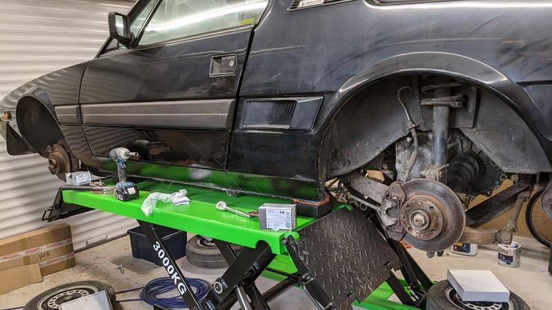 brake pad and disc change