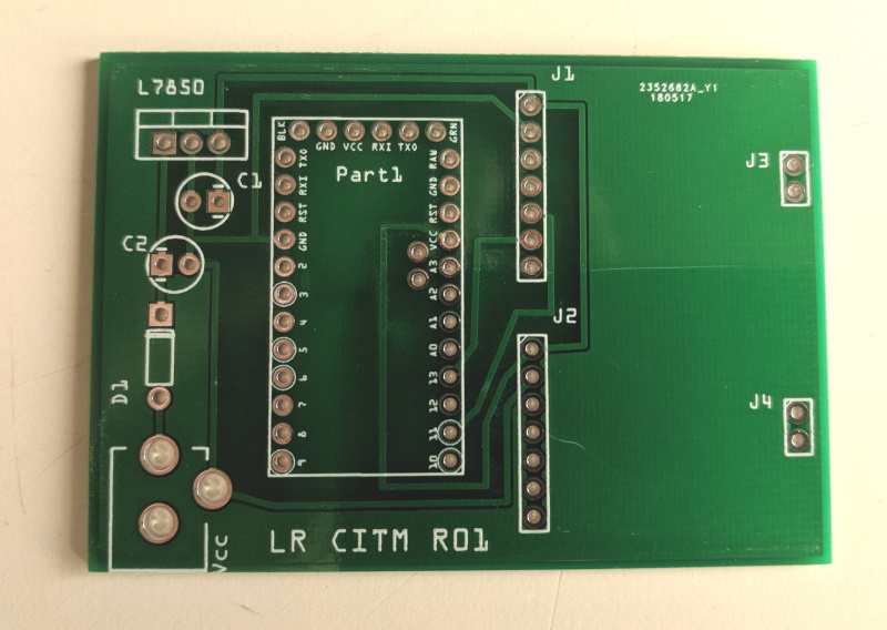 Unwrapped circuit boards where of excellent quality