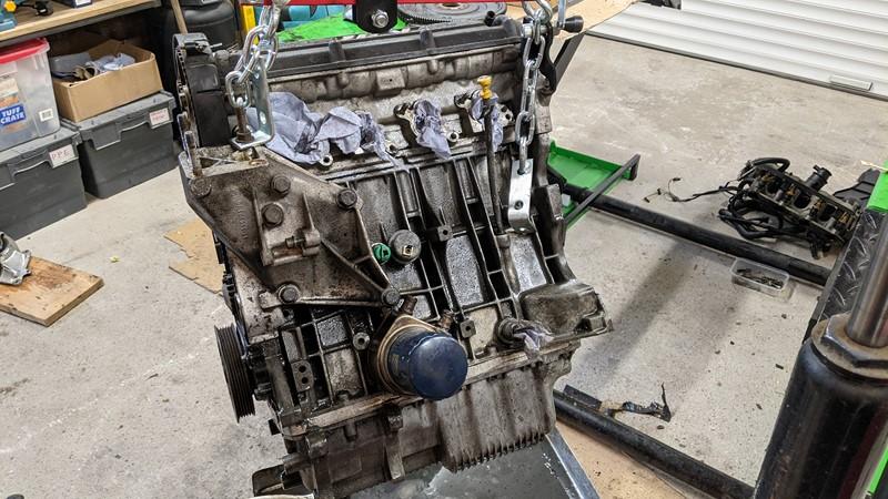 cleaned MI16 engine
