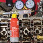 Cylinder head leak testing