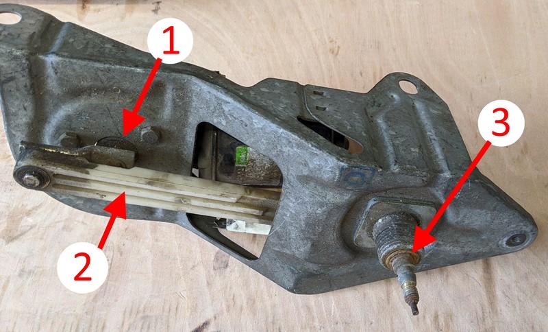Citroen BX wiper mechanism