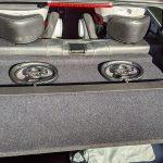 new speakers in parcel shelf