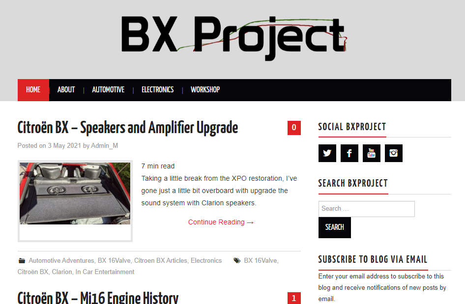 The new and improved BX Project