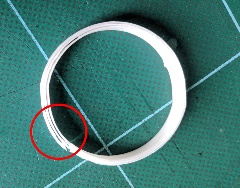 Poor Marlin configuration leads to delamination