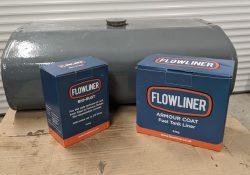 flowliner fuel tank lining