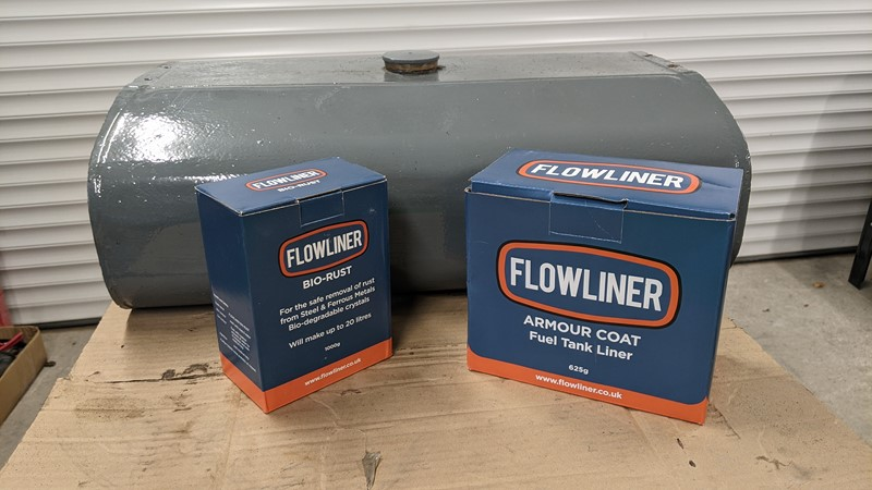 Will lining the tank with Flowliner beat the rust?