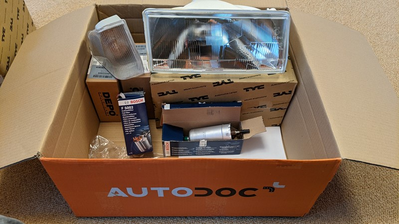 My first AutoDoc delivery, a complete bargain