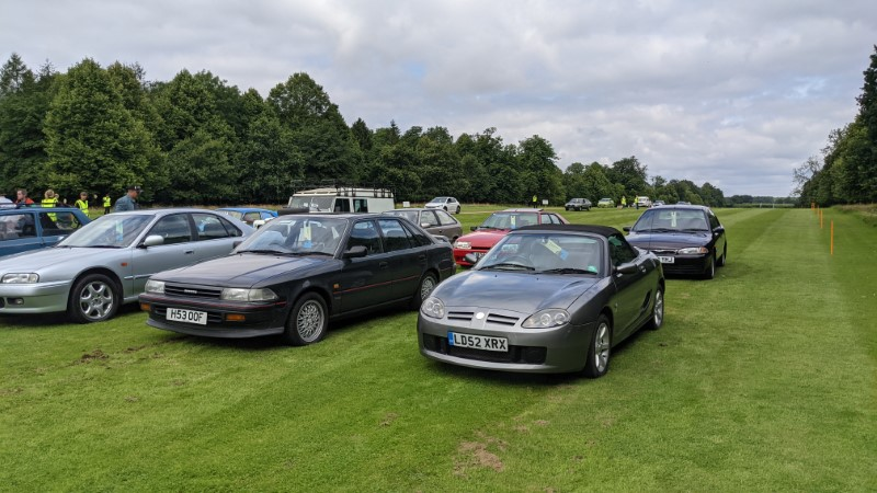 Finally made it in to Festival of the Unexceptional