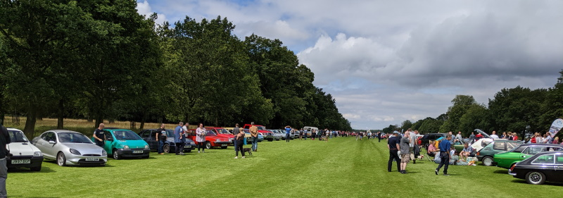 Bright overcast day for Festival of the Unexceptional