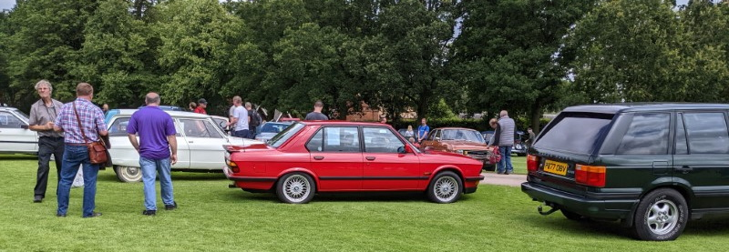 Iconic BMW shape is one of my favourites