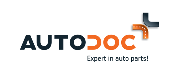 Distinctive logo and colouring define AutoDoc